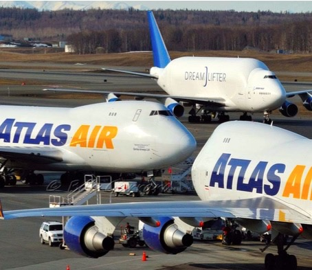 1 ATLAS AIR B747s