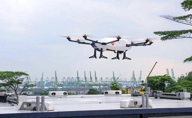 Skyways Singapore drone