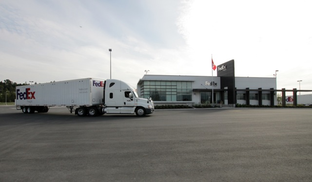 FedEx Freight Canada Vancouver Opening 16 May 2013