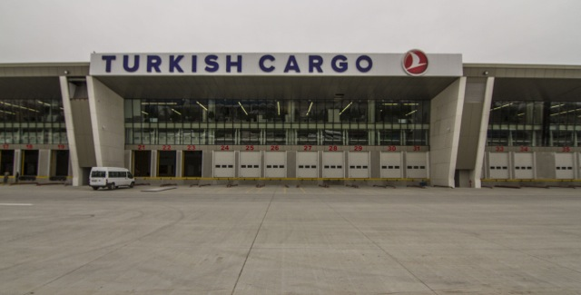 New Turkish Airlines cargo terminal Istanbul