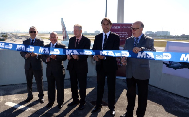 Qatar Cargo MIA launch