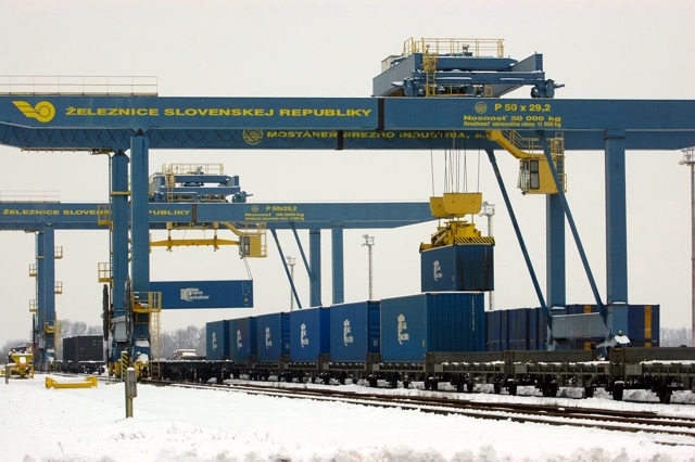 Russia container terminal