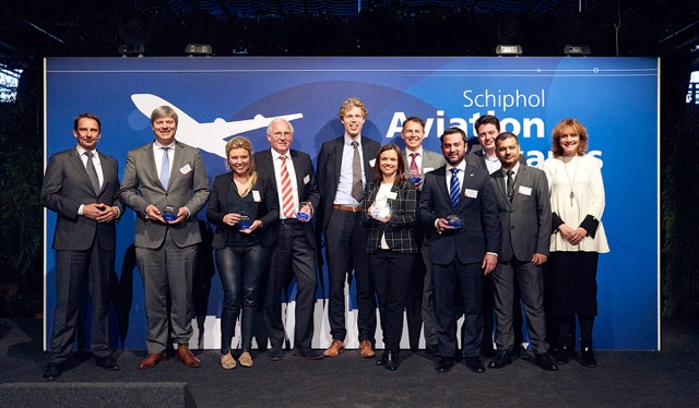 Schiphol airport winners 2016