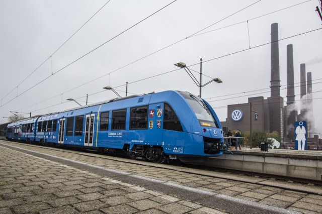 Alstom Hydrogen powered trains