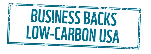 Business backs low-carbon USA