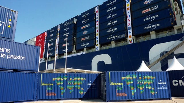 CMA CGM containers