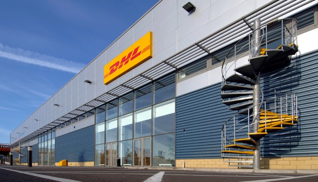 DHL GM sort center Croydon UK