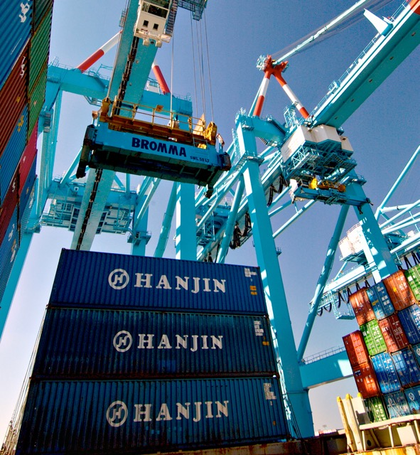 Hanjin container 1