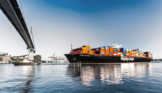 Hapag Lloyd containership