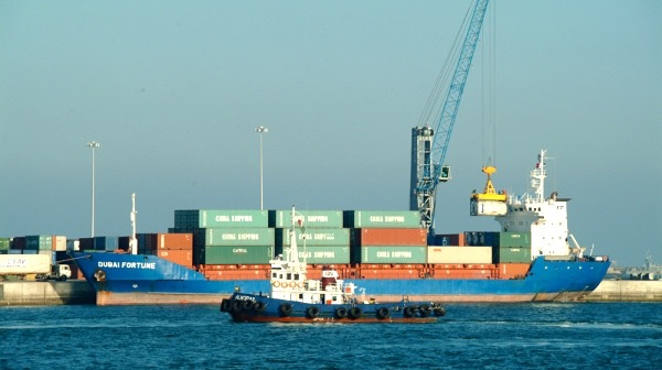 First container feeder service between Qatar and Iraq
