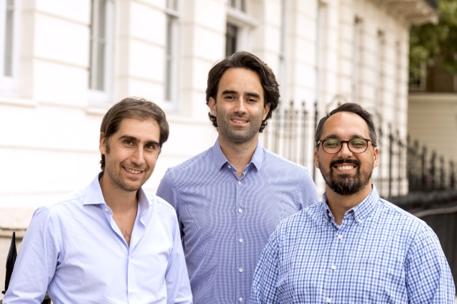Richard Fattal Co Founder Head of Growth Product Alex Hersham Co Founder CEO and Jan Riethmayer Co Founder CTO