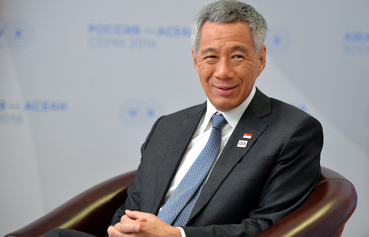 Singapore Prime Minister Lee Hsien Loon