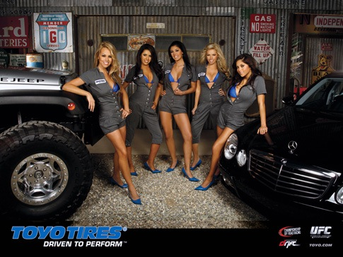 Toyo Tire  Rubber girls