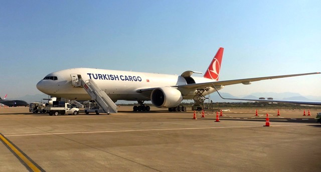Turkish Cargo B777F Eurasia Air Show