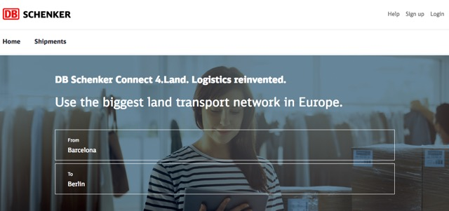 connect 4 land DB Schenker