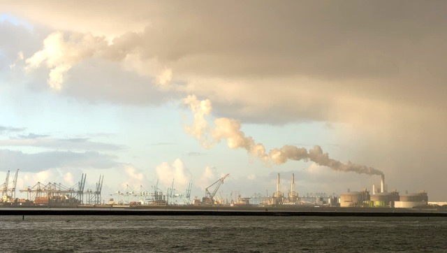 port of orotterdam co2