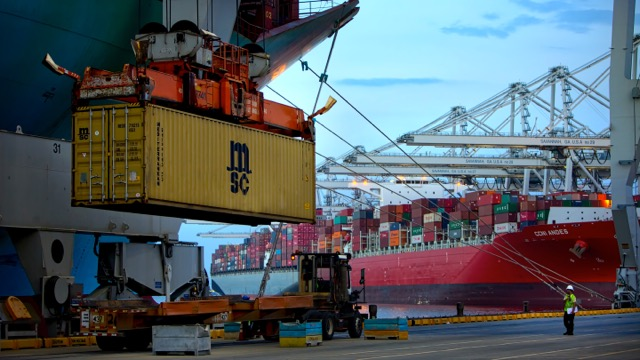 savannah port handling