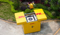 DHL drone service in China